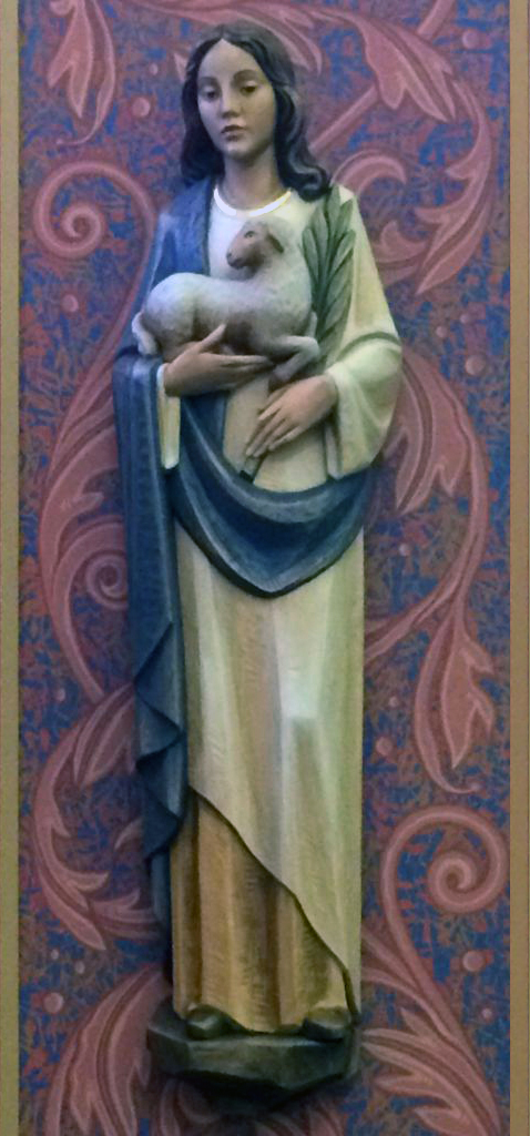 St Agnes of Rome, Our Patron Saint