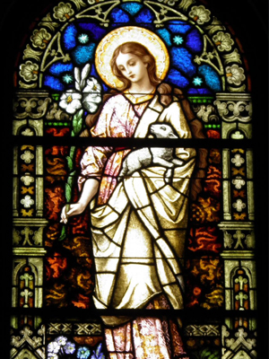 St Agnes Stained Glass