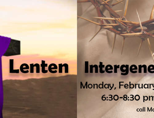 Lenten Family Intergenerational Event