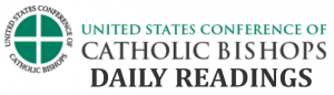 USCCB Daily Readings
