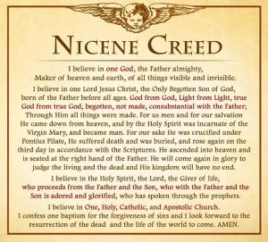 Nicene Creed